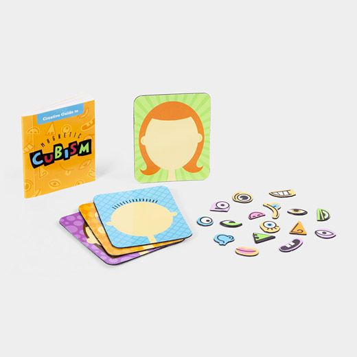 Magnetic Cubism: Cubism Kits, Moma Stores, Magnetic Cubism, Teaching Ideas, Magnets Games, Press Magnets, Art Education, Magnets Cubism, Art Rooms