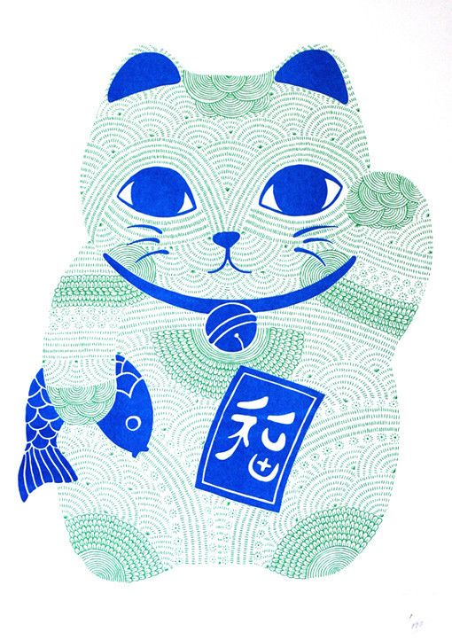 Lucky Cat Neon | scouteditions