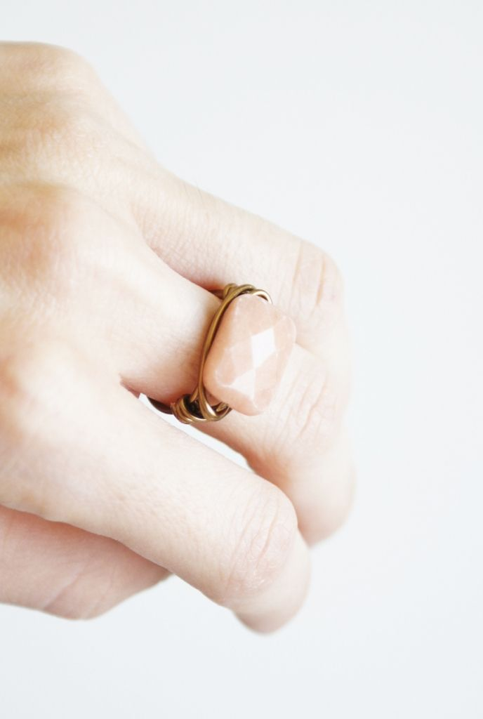190 best aluminio y alambre images on Pinterest | Wire, Beaded rings ...