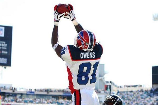 Terrell Owens. Buffalo Bills (2009)