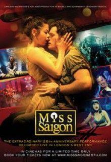 Мисс Сайгон: 25-ая годовщина (2016) http://hdlava.me/films/miss-saygon-25-aya-godovschina.html  Великобритания представила зрителям увлекательный мюзикл под названием «Мисс Сайгон: 25-ая годовщина» (Miss Saigon: 25th Anniversary) в 2016 году. Съемочное производство на его двадцатипятилетие выступило в лондонском театре в прямом эфире. Действие происходило в лондонском Уэст-Энде в театре самого Принца Эдуарда. В мюзикл вошли 2 часа 20 минут самого события и 35-минутный бонус – гала концерт…