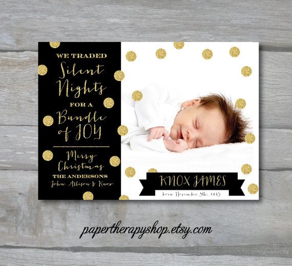 Best 25 Holiday birth announcement ideas – Holiday Baby Announcements