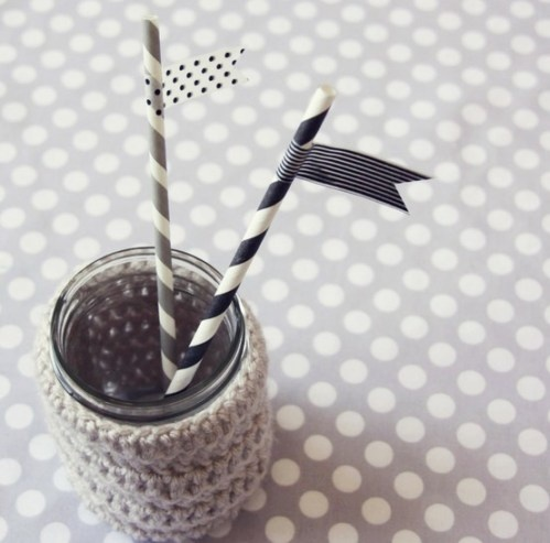 polka dots and stripes, the classic pairing, in wonderful shades of black.Sweets Lulu, Shops Sweets, Paper Straws, Parties Ideas, Sweets Shops, Blog, Washi Tape, Washitape, Jars