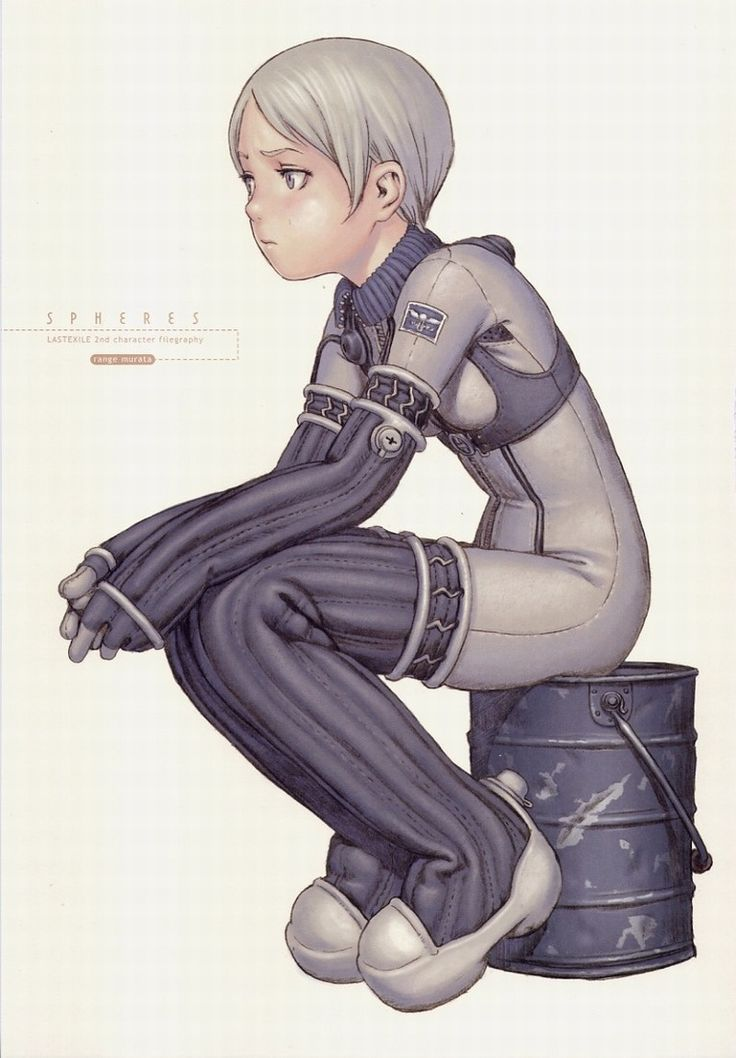 Last Exile, Tatiana Wisla After being blown away by Ghibli, this drawing was what pulled me deeper into the wonderful world of Anime and Manga!