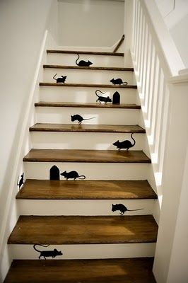 Adorable staircase concept!