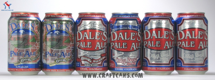 A decade of Dale's Pale Ale from Oskar Blues Brewery.