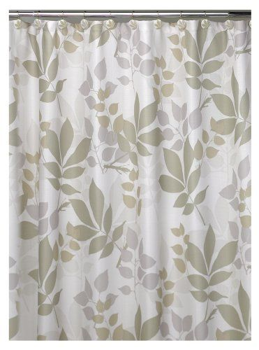 Creative Bath Shadow leaves Shower Curtain. Machine washable. Do not use bleach. Curtain liner recommended. Generously sized 72-inch by 72-inch. 70 by 72. Tumble dry on low heat. Item Dimensions: (width: 7200), (height: 0) hundredths-inches. It's a natural , a multi - neutral color montage of overlapping and tumbling leaves are printed on a textured shower curtain weave of 100 percent polyester. Off-white.