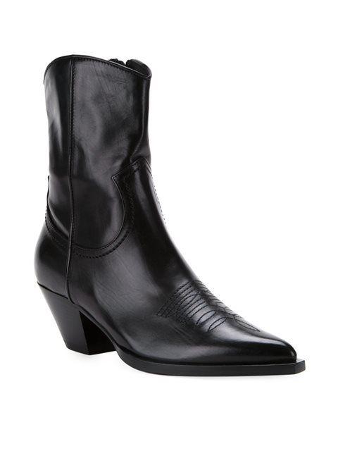 Scanlan Theodore cuban heel boots