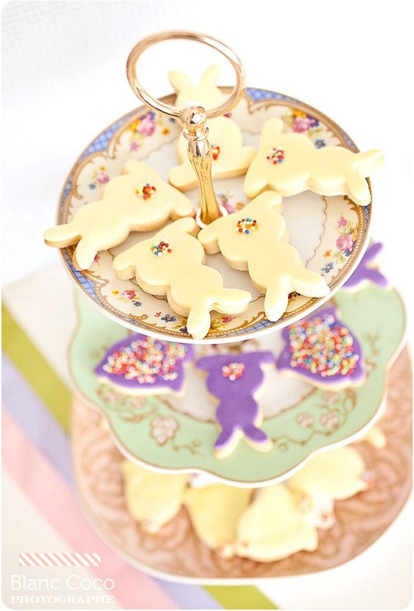 Sablés de Pâques à la vanille