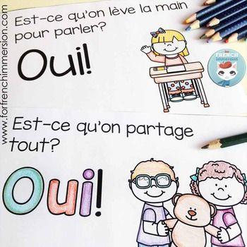 """French emergent reader focusing on the word """"OUI"""" + good choices - en français pour les lecteurs débutants"""