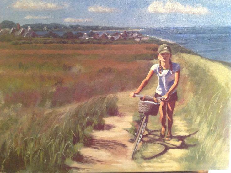 Biking Nantucket