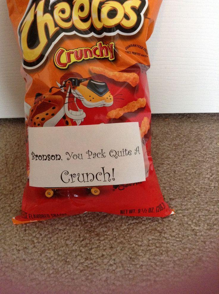 Cheetos! Valentine You Pack Quite A Crunch! Valentines