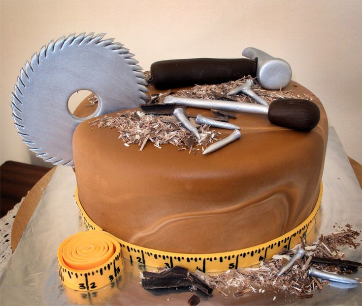 Delana's Cakes: Wood Work Cakes