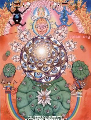 The Peyote Cactus, the source of mescaline, another entheogen.