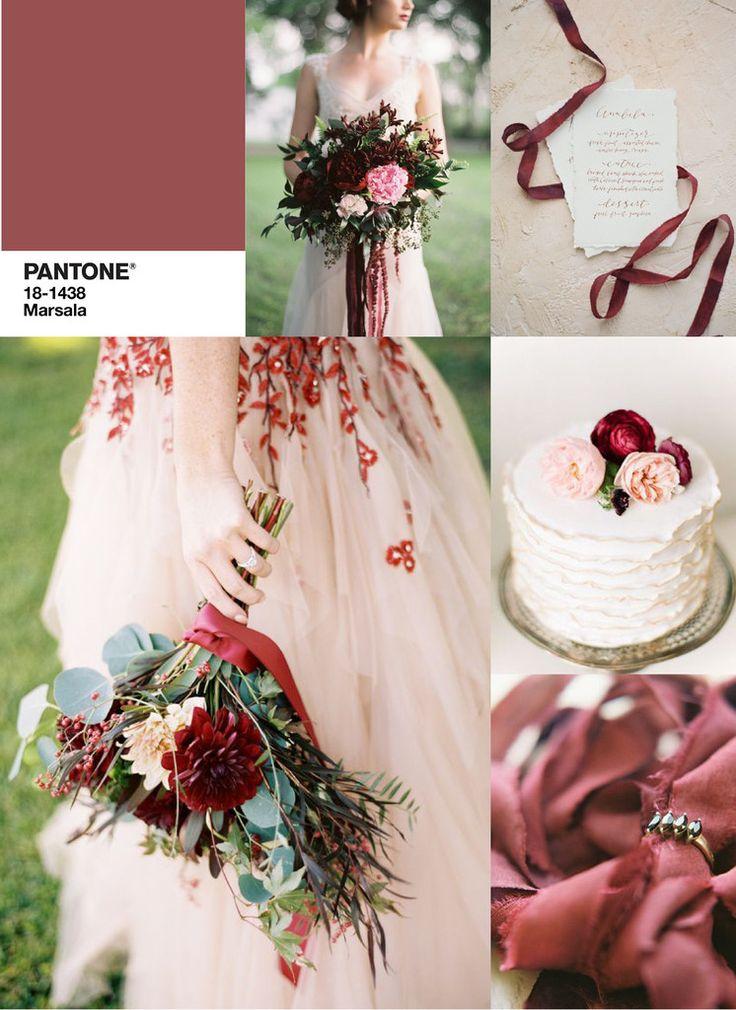 Matrimonio color Marsala - Fotogallery Donnaclick