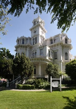 Historic Governor's Mansion of California - U.S. National Register of Historic Places #70000139, California Historical Landmark #823 in Sacramento, California
