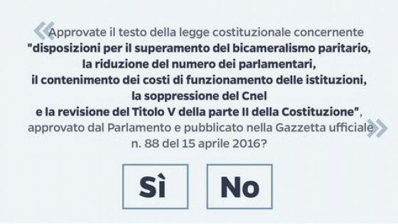 Sondaggio: Referendum costituzionale del 4 Dicembre 2016 in Italia - Sostenitori delle Forze dell'Ordine
