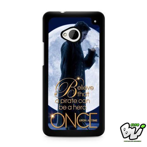 Once Upon A Time Captain Hook HTC G21,HTC ONE X,HTC ONE S,HTC M7,M8,M8 Mini,M9,M9 Plus,HTC Desire Case