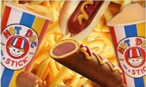 If you have a Hot Dog on a Stick restaurant nearby, you may want to get in on this online Groupon!  Today's deal is for a $8 voucher valid at participating Hot Dog on a Stick locations for only $4!  I wish I had one of these near me as I've heard that their fresh [...]
