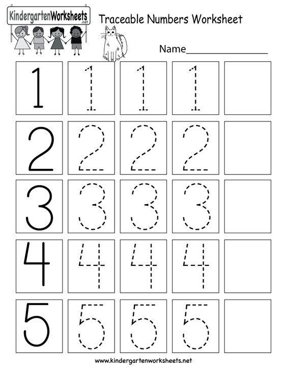 This Is A Numbers Tracing Worksheet For Preschoolers Or Kindergarteners You Can Preschool Math Worksheets Kindergarten Math Worksheets Free Numbers Preschool
