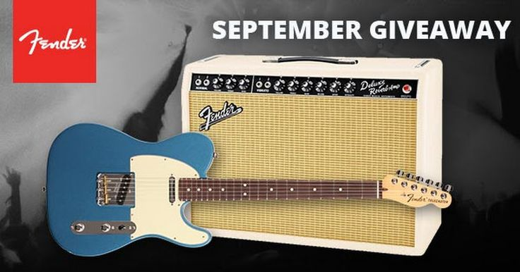 http://woobox.com/zpmo9f/jcieem   Win an American Special Telecaster, matching guitar gig bag, and an Exclusive Run '65 Deluxe Reverb Combo amp