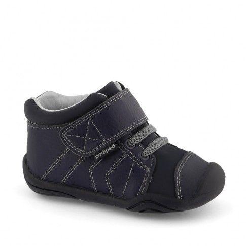 Grip n Go - Jerome Navy | Incaltaminte bebelusi marca #pediped | incaltaminte bebelusi baieti | incaltaminte confortabila pentru copii de la 0 la 2 ani