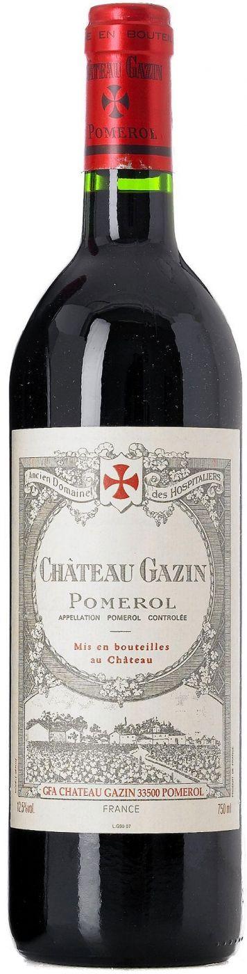Вино Шато Газен, 2010 купить Chateau Gazin, Pomerol AOC, 2010, 750 мл. Шато Газен. Красное