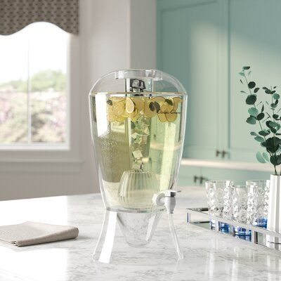 Ebern Designs Lillegard 256 oz. Beverage Dispenser