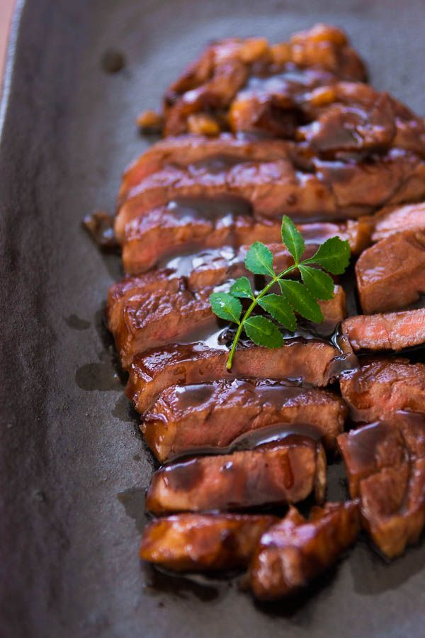The best steak teriyaki EVER, and it only requires 5 ingredients and 7 minutes.