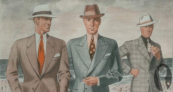 Men's Summer Fashion & How to Dress in the Thirties & Forties — Gentleman's Gazette