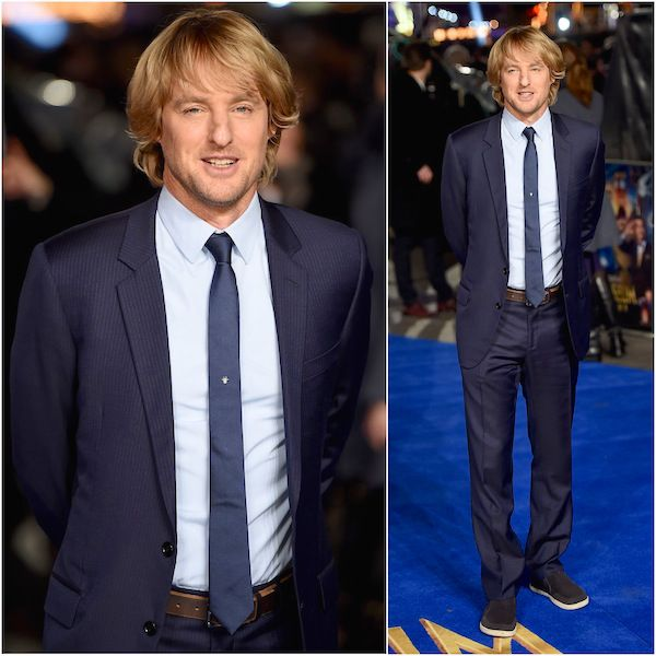 Owen Wilson in Dior Homme - 'Night at the Museum: Secret of the Tomb' UK Premiere http://www.whats-he-wearing.com/2014/12/owen-wilson-in-dior-homme-navy-pinstripe-suit-night-at-the-museum-secret-of-the-tomb-london-premiere.html?spref=tw