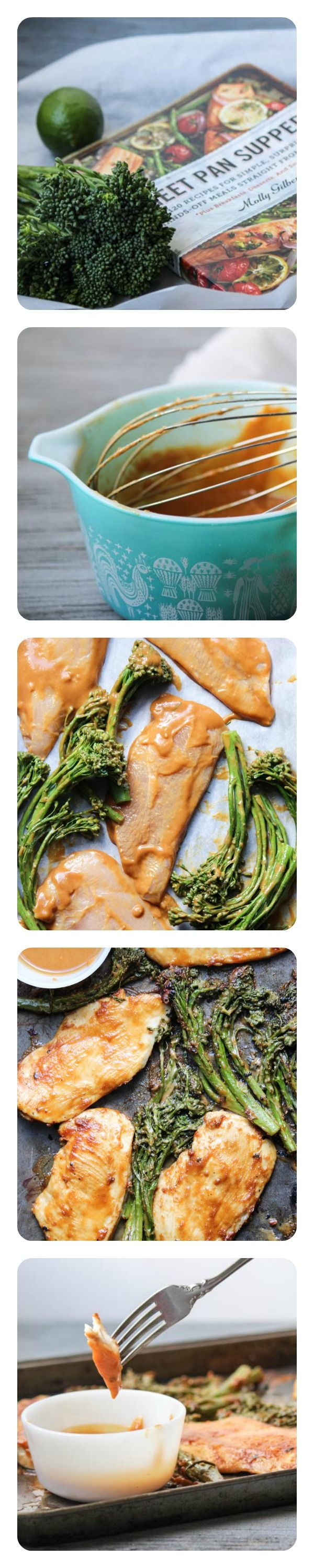 Quick Chicken and Broccoli with spicy peanut sauce - is done in 12 minutes. #WeekdaySupper never looked so good and easy.