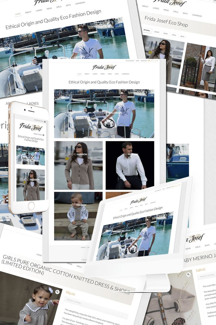 The New Website for Frida Josef Eco Fashion https://hostcat.co.uk/project/frida-josef-eco-fashion/