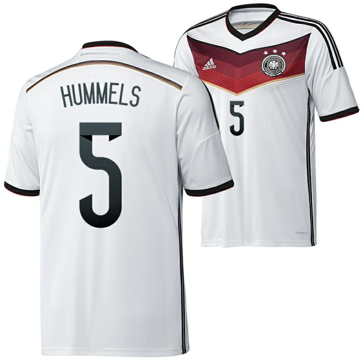 Germany 2014 World Cup Soccer jersey (5 Hummels)-Discounted Germany 2014 World Cup Soccer jersey (5 Hummels) also have brilliant design and first-class quality in online store. Free shipping of Germany 2014 World Cup Soccer jersey (5 Hummels) is more attractive for you.- http://www.uswmis.com/germany-2014-world-cup-soccer-jersey-5-hummels-uswmiscom-p-2345.html