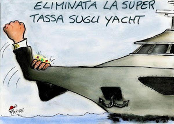 Abolizione tassa barche di lusso