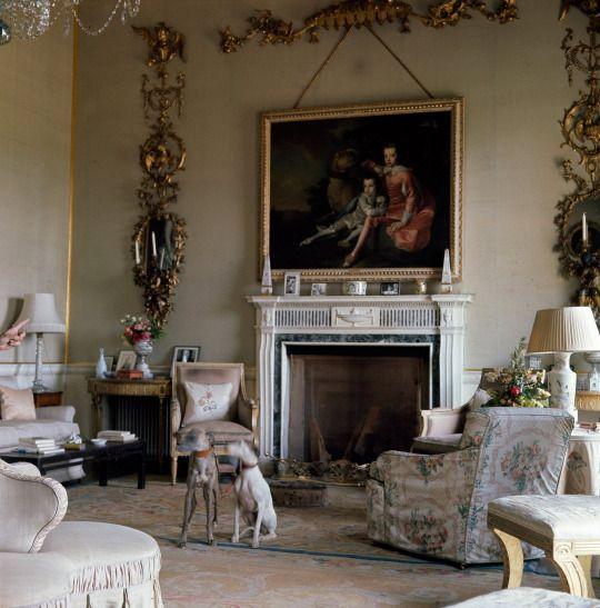 Nancy Lancaster ~ her drawing room