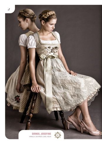 Julia Trentini Spring/Summer 2013 Dirndl Couture #Tracht