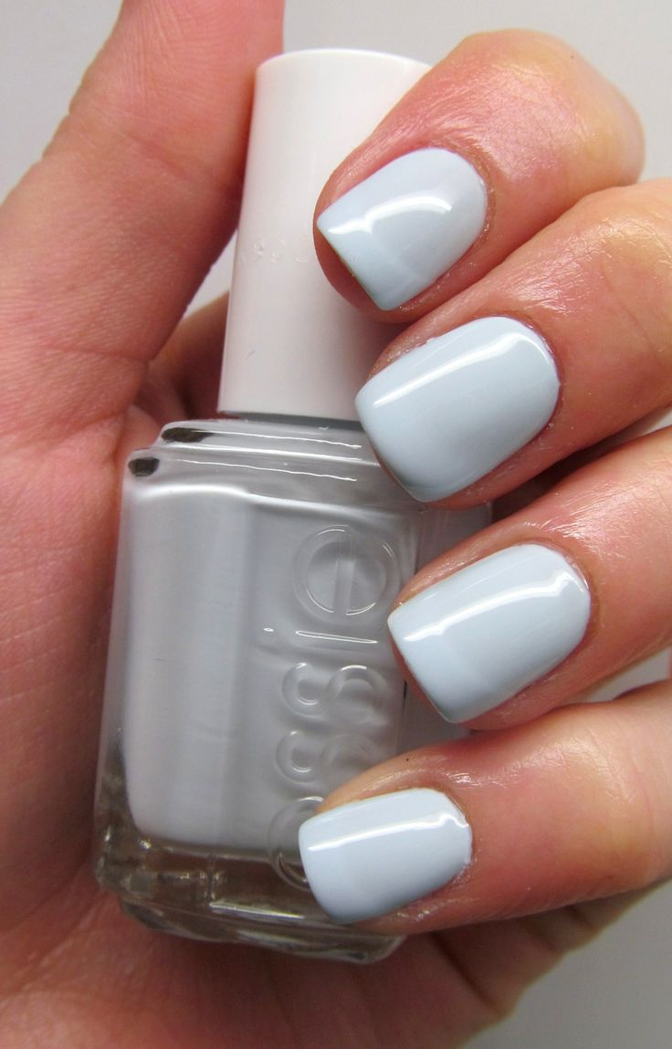 Essie ● Find Me An Oasis, resort 2014. Love this color! Kinda like a periwinkle and gray combined