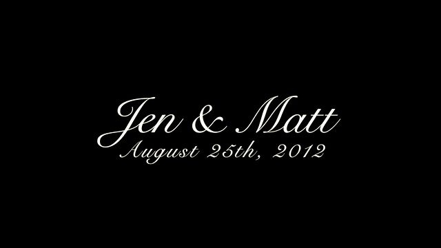 Jen and Matt by Moonrider Productions. Although the footage was unexpected at this amazing occasion we were able to weave together a very unique piece.   Congratulations Jen and Matt.