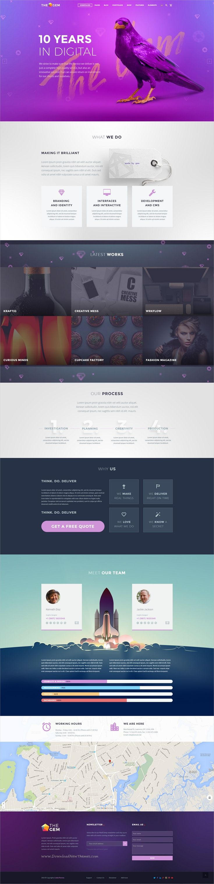 TheGem is creative multipurpose #PSD template for the huge variety of #design & #web projects with 50+ awesome homepage layouts & 200+ layered PSD files download now➩ https://themeforest.net/item/thegem-creative-multipurpose-psd-template/19746346?ref=Datasata