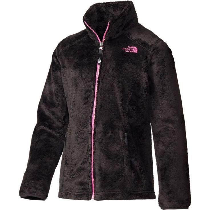 The North Face Girls' Osolita Fleece Jacket, Size: Small, Black