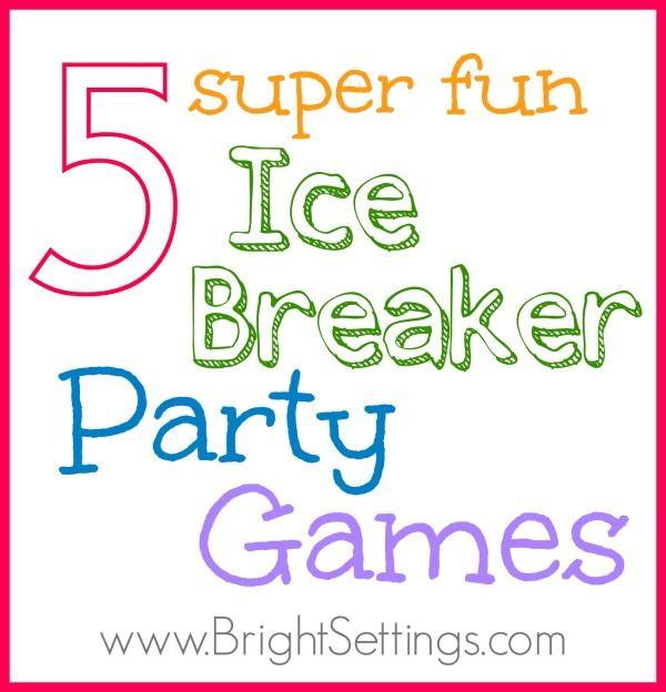 Christmas Party Icebreaker Games For Adults: 5 Ice Breaker Party Games