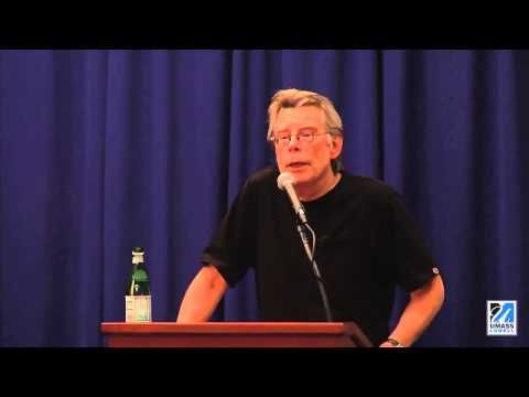 """Stephen King On Twilight, 50 Shades of Grey, Lovecraft & More (55:51)  (Bonus points for multiple New England-isms - """"wicked!"""" - and even a """"Bueller""""!)"""