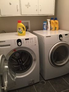 SAMSUNG, front Load Washer/Dryer set. ONLY $995.