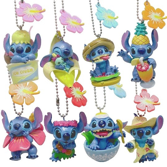 Disney Stitch keychains