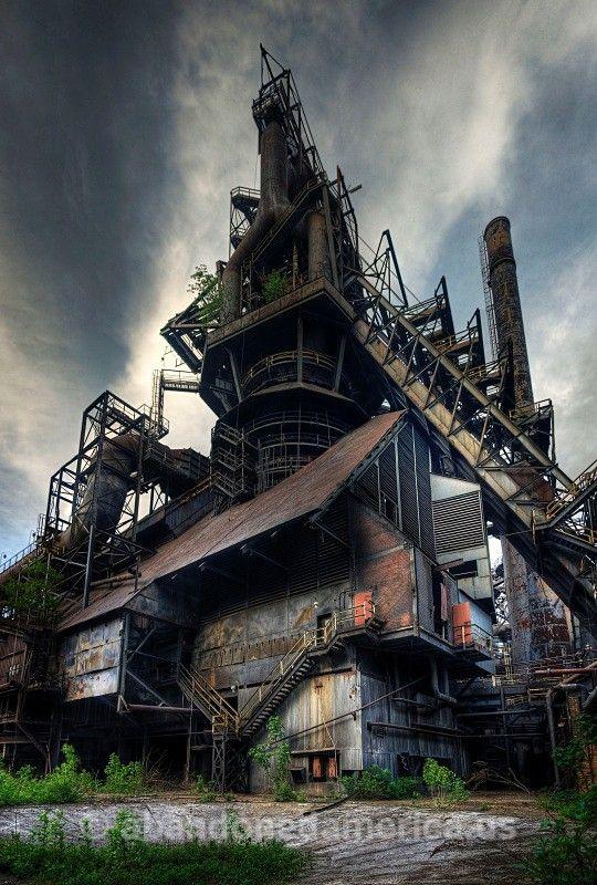 bethlehem steel, allentown pa - matthew christopher murray's abandoned america