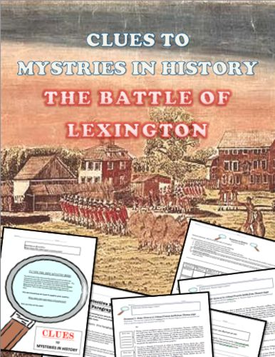 The students will try and solve the mystery of who fired the first shots at Lexington by looking at Primary sources, finding the main idea of the documents, making judgements and then writing up a detective report to explain what they discovered.