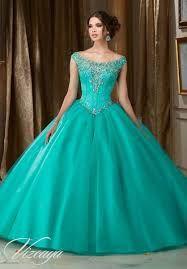 Resultado de imagen para vestidos de 15 años modernos azul turquesa cortos