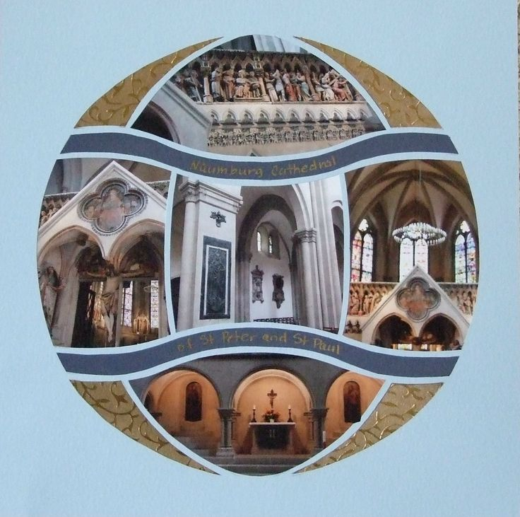 Photo Collage created by Marion, Lea France designer using Magical Sphere Stencil.