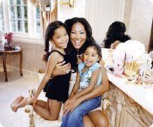 Model Mom Kimora Lee Simmons #KimoraLeeSimmons